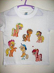 Tričká - Detské tričko Koníky - 8946366_