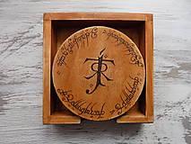 Pomôcky - Podložky pod poháre - J.R.R. Tolkien - 8946418_