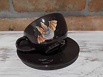 Nádoby - Šálka - Netopier ušatý - 8947924_