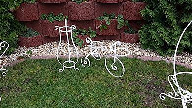 Dekorácie - Stojan na kvety bicykel - 8945923_