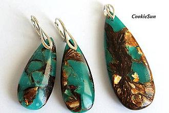 Sady šperkov - Set z Jaspisu z morských sedimentov - 8946166_