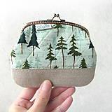 Taštičky - Peňaženka XL Ja som stromy - 8945998_