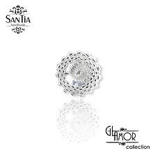 Prstene - Nastaviteľný strieborný prsteň Ag 925 - 8947886_