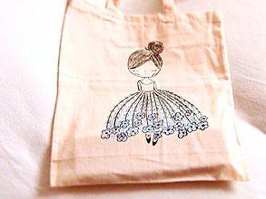 Nákupné tašky - nákupka tanečnica - 8945815_