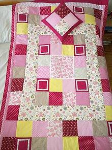 Úžitkový textil - Deka 200x125 a vankúš 40x40 - 8950054_