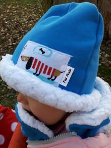 Detské čiapky - Detský zimný set-čiapočka a šalik ..pre chlapčeka - 8950372_