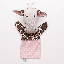 Hračky - Manuška žirafa Bella - 8949240_