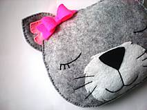 Hrejivý vankúš (Mačička)