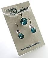 - Swarovski rivoli Light Turquoise - sada - 8951992_