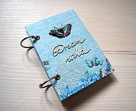 Papiernictvo - Riadkovaný zápisník DREAM WILD, A6 - 8949944_