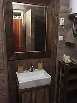 """Nábytok - Stolík pod umývadlo """" staré dosky """" - 8951408_"""