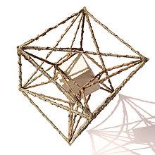 Socha - Textilná miniatúra s názvom: Harmónia - 8949381_