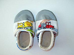 Topánočky - capačky autá - 8949431_