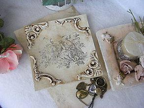 Nádoby - Vintage tanier ... - 8949839_