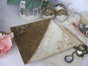 Nádoby - Vintage tanier ... - 8949885_