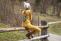 Nohavice - Navajo tribal winter - termo set - 8949190_