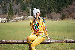 Nohavice - Navajo tribal winter - termo set - 8949246_