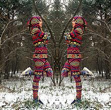Mikiny - Aztec goddess - termo oblečko - 8949468_