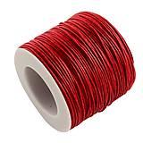 - Šnúra bavlnená Ø 1 mm - červená - 8950421_