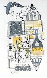 - Umenie ilustrácia / originál maľba - 8953020_