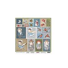 Papier - Papier 30,5x30,5cm Once Upon a Winter - Fun & Joy - 8953587_