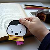 Zimný pingu do knižky...