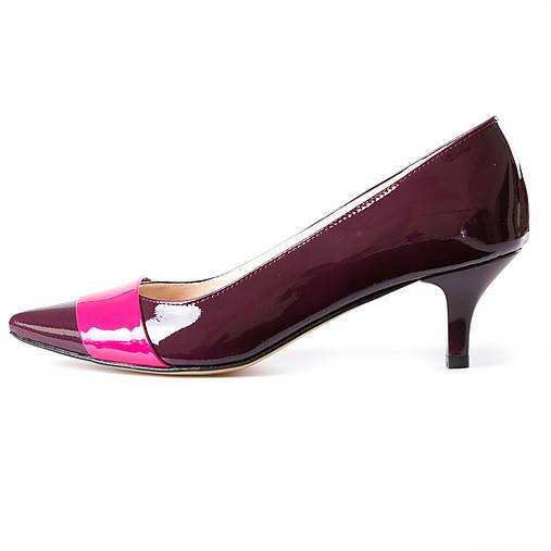 37d47b289c Nízke violet lodičky s ružovým pasikom   chalany - SAShE.sk ...