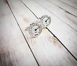 Šperky - Manžetové gombíky tachometer :) - 8952432_