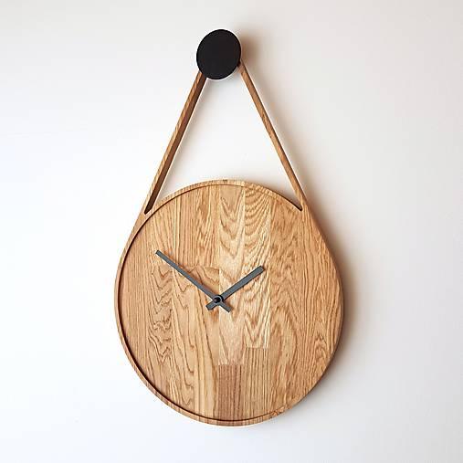 Hodiny - Marc Drop Clock - Dubové hodiny - 8953152_