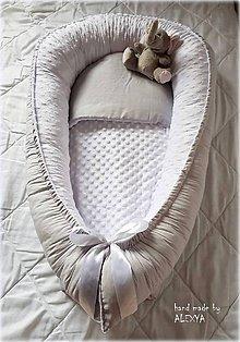Textil - Hniezdo pre bábätko (75X38cm) - 8953594_