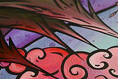 """Obrazy - Maľovaný obraz """"Folky"""" 60cm x 40cm - 8953194_"""