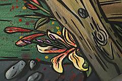 """Obrazy - Maľovaný obraz """"Folky"""" 60cm x 40cm - 8953197_"""