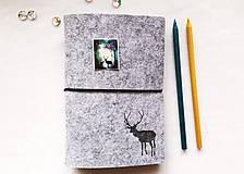 Papiernictvo - Diár Softwille Sob Silver Grey - 8952199_