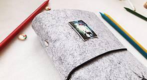 Papiernictvo - Diár Softwille Sob Silver Grey - 8952201_