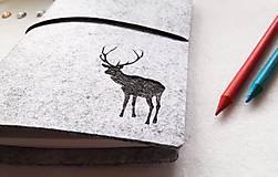 Papiernictvo - Diár Softwille Sob Silver Grey - 8952202_