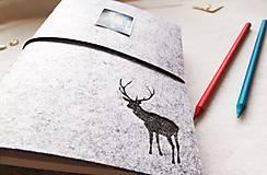 Papiernictvo - Diár Softwille Sob Silver Grey - 8952203_