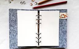 Papiernictvo - Diár Softwille Sob Silver Grey - 8952204_