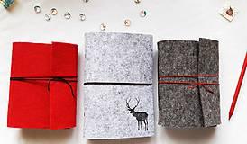 Papiernictvo - Diár Softwille Sob Silver Grey - 8952205_