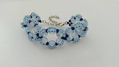 Náramky - Modrý náramok - 8954085_