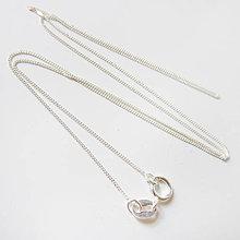 Komponenty - Retiazka ku šperku (Očká / veľmi jemná) - 8954813_