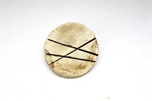 Keramická brošňa Simple Life (Hedhog)