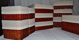 Košíky - Zostava boxov JUTKA - 8954261_