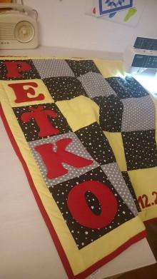 Textil - Patchwork deka - Peťko - 8957177_
