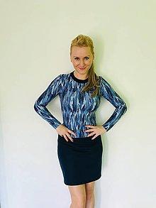 Šaty - Riflové šaty - 8955350_