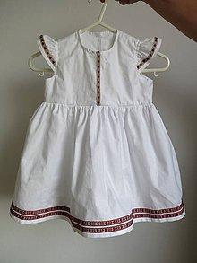 Detské oblečenie - detské folk šaty - 8956074_