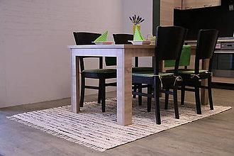 Úžitkový textil - Ručne tkaný koberec KOBERČEKY SLUŠŇÁK 40 cm šírka hnedý - 8955451_