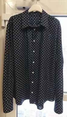 Oblečenie - Pánská košile s dlouhým rukávem MODROTLAČ vzor na přání - 8955558_