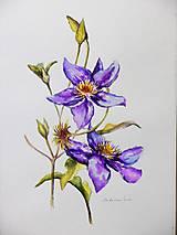 Obrazy - Bylinka v akvareli podľa želania - 8957002_