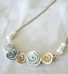 Náhrdelníky - Dove - náhrdelník - 8956025_