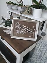 """Nádoby - Tácka """"Herboristerie"""" - 8958076_"""